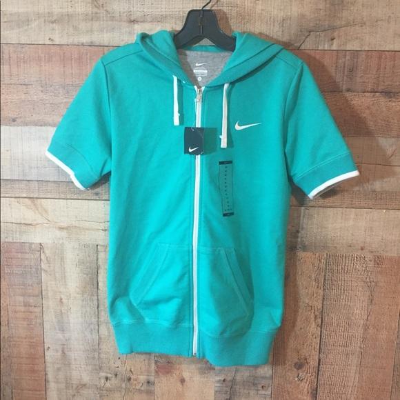 d4211dbba8c Nike Terry Jacket short sleeve Hoodie